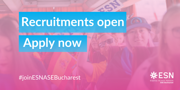 Recruitments ESN ASE Bucharest